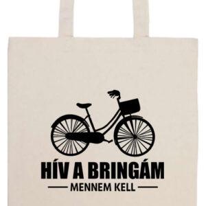 Hív a bringám- Basic hosszú fülű táska