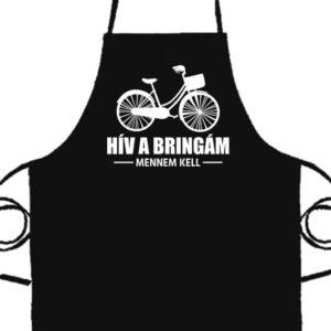 Hív a bringám- Prémium kötény