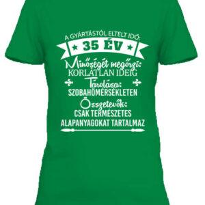 35 éves születésnap – Női póló