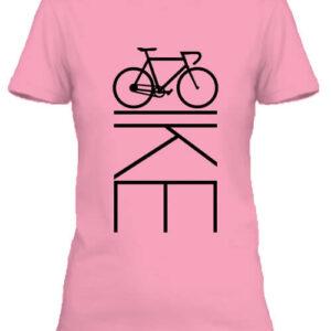 Bicikli kerékpár – Női póló