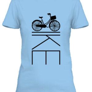 Kerékpár bringa – Női póló