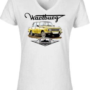 Wartburg – Női V nyakú póló