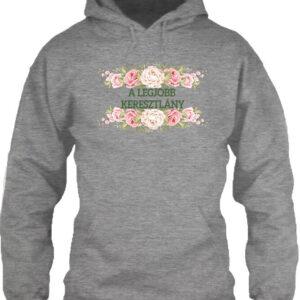 A legjobb keresztlány – Unisex kapucnis pulóver