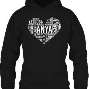 Anyai szív – Unisex kapucnis pulóver
