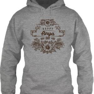 Happy anya day – Unisex kapucnis pulóver