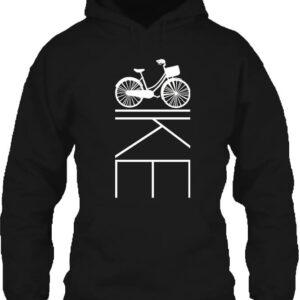 Kerékpár bringa – Unisex kapucnis pulóver