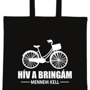 Hív a bringám- Basic rövid fülű táska