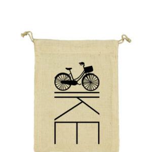 Kerékpár bringa – Vászonzacskó kicsi