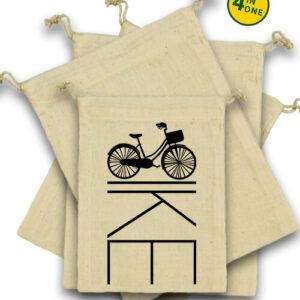 Kerékpár bringa – Vászonzacskó szett