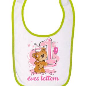 1 éves lettem lány – Baba előke
