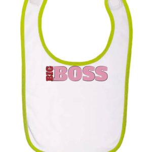Big boss lány – Baba előke