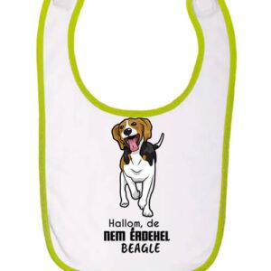 Hallom de nem érdekel beagle – Baba előke