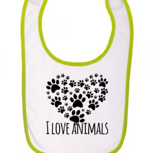 I love animals – Baba előke