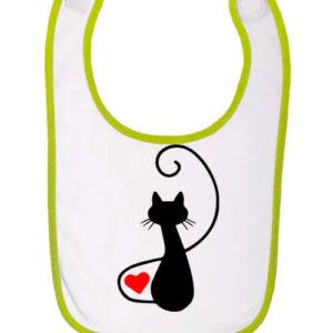 Macska szerelem – Baba előke