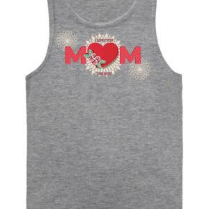 Anya a legjobb – Férfi ujjatlan póló