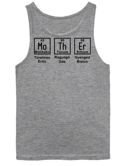 Férfi ujjatlan póló Anya kémia