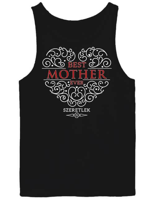 Férfi ujjatlan póló Best mother ever