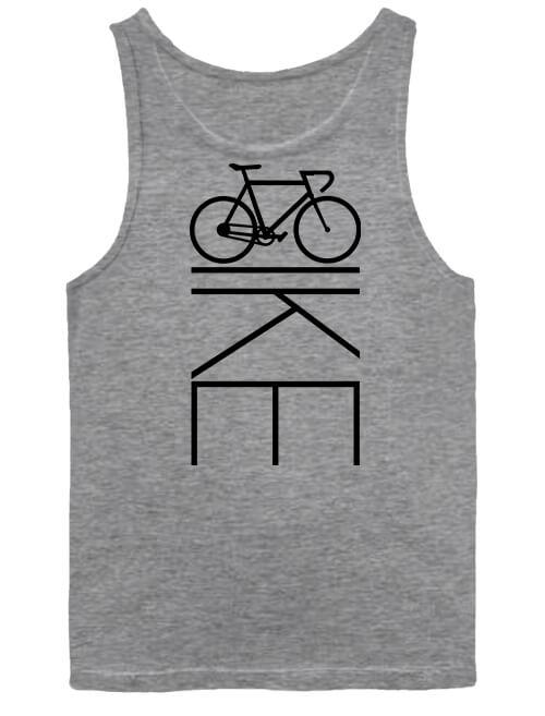 Férfi ujjatlan póló Bicikli kerékpár