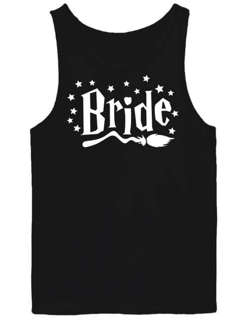 Férfi ujjatlan póló Bride fekete
