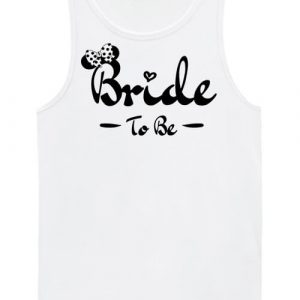 Bride to be lánybúcsú – Férfi ujjatlan póló