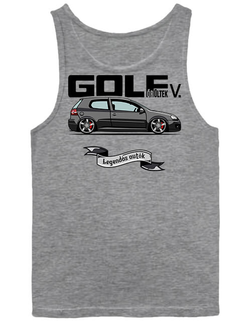Férfi ujjatlan póló Golf őrültek