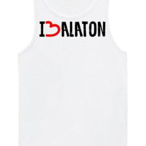 I love Balaton – Férfi ujjatlan póló