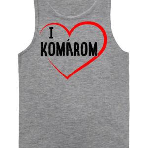 I love Komárom – Férfi ujjatlan póló
