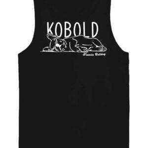 Kobold francia bulldog – Férfi ujjatlan póló