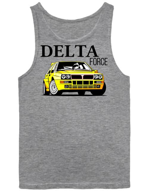 Férfi ujjatlan póló Lancia Delta Force