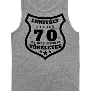 Limitált kiadás 70 – Férfi ujjatlan póló