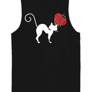 Macskamánia – Férfi ujjatlan póló