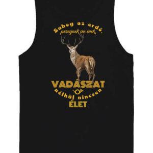 Suhog az erdő szarvas vadászat – Férfi ujjatlan póló