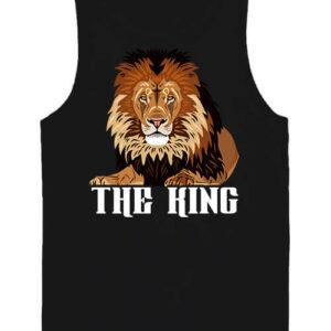 The king Az oroszlán – Férfi ujjatlan póló