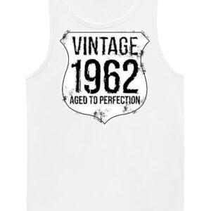 Vintage 1962 szülinapos – Férfi ujjatlan póló