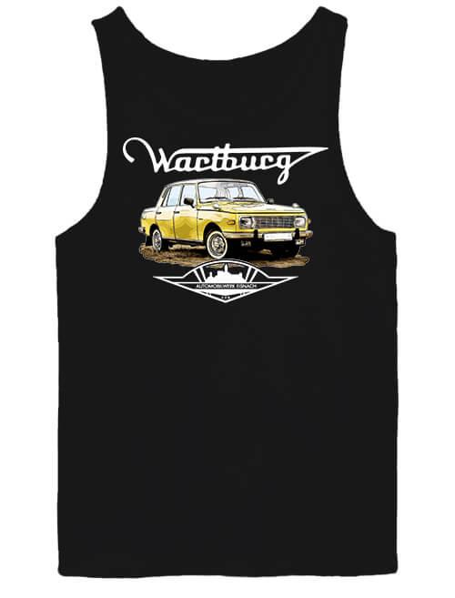 Férfi ujjatlan póló Wartburg fekete