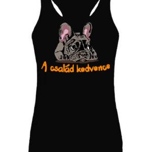A család kedvence francia bulldog – Női ujjatlan póló