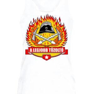A legjobb tűzoltó – Női ujjatlan póló