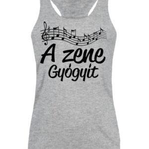 A zene gyógyít – Női ujjatlan póló