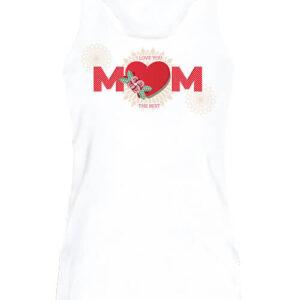 Anya a legjobb – Női ujjatlan póló