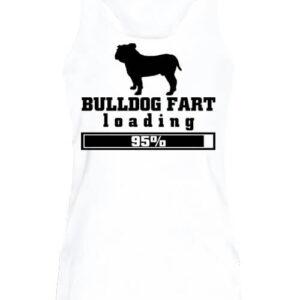 Bulldog fart – Női ujjatlan póló