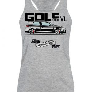 Golf őrültek VI – Női ujjatlan póló