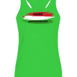 Hajrá Magyarország – Női ujjatlan póló