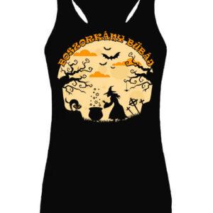 Halloween boszorkány bűbáj – Női ujjatlan póló