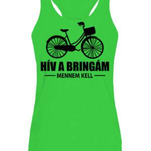 Hív a bringám – Női ujjatlan póló
