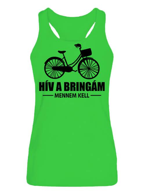 Női ujjatlan póló Bicikli kerékpár