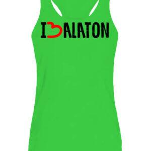 I love Balaton – Női ujjatlan póló