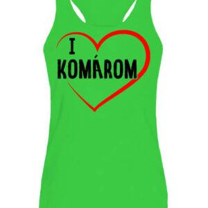 I love Komárom – Női ujjatlan póló