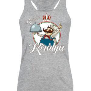 Konyha királya – Női ujjatlan póló