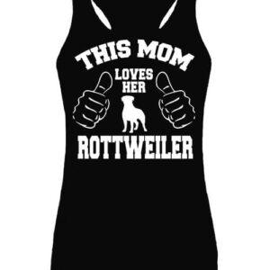 Mom's rottweiler – Női ujjatlan póló