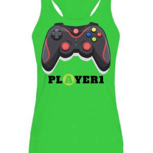 Player 1 – Női ujjatlan póló